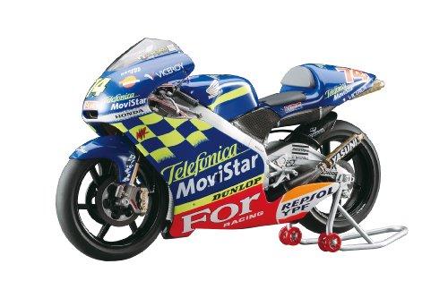 1/12-2001 Honda NSR250 team Telefonica MoviStar Honda (2001 WGP250 Meister Daijiro Kato) (BK2)