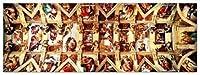 Sistine Chapel, M. A. Buonarroti (1000 pc panoramic puzzle) by Educa [並行輸入品]