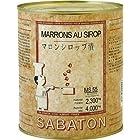 サバトン マロンシロップ4kg