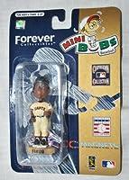 "SF Giants Barry Bonds MLB 3.5"" Mini Bobble Head Rare"