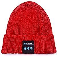 Bluetooth Beanie Hat Music Eardphonesヘッドセットヘッドフォン(テックギフト用)Men Women Girls
