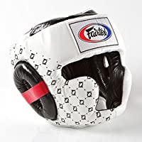 Fairtex hg10スーパースパーリングヘッドガード安全トレーニングボクシングムエタイ