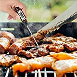 DSHUJC Digital Meat Food Thermometer Kitchen Cooking Food Probe Kitchen Oil Temperature Needle BBQ Stable Display Kitchen Nee