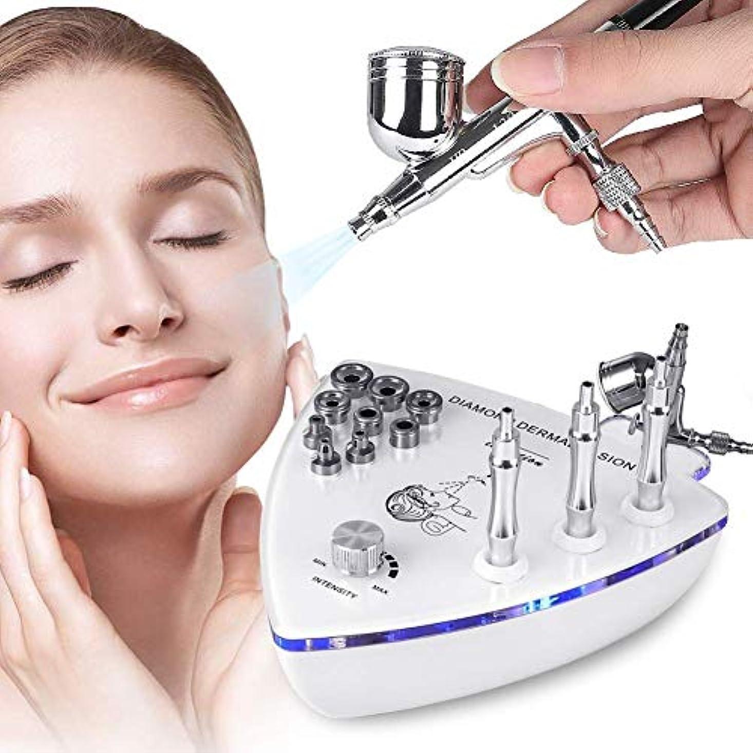 ビルマセーター不健康スプレーガン皮膚剥離除去顔の皮膚剥離装置、Professionalホームの使用をスプレーフェイシャル?美容サロン機器とダイヤモンドマイクロダーマブレーション皮膚剥離機、