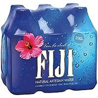 FIJI Water フィジー ウォーター 330ml×6本 (6本入り1パック) [並行輸入品]