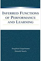 Inferred Functions of Performance and Learning Kindle Edition