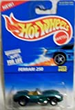 Hot Wheels 1996-452 Ferrari 250 Blue Card 1:64 Scale