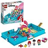 LEGO Disney Princess 43176 Ariel's Storybook Adventures Building Kit (105 Pieces)