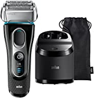Braun Series 5 5197Cc Men'S Rechargeable Foil Electric Shaver with Clean and Charge System, B