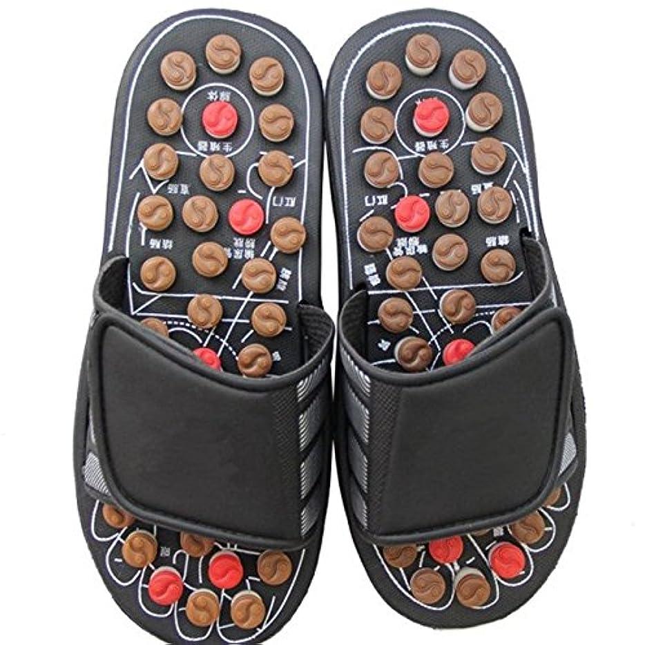 羽エステート靴Wanghong父の日ギフト履いて健康! 足つぼ マッサージ サンダル ピン付 スリッパ 父の日 ギフト プレゼントに