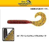 GaryYamamoto/ゲーリーヤマモトジャンボグラブ 6inch #297グリパン/ブラックF  6インチ