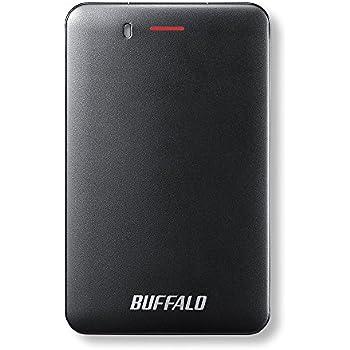 BUFFALO USB3.1(Gen1) 手のひらサイズ 小型ポータブルSSD 240GB ブラック SSD-PM240U3-B/N