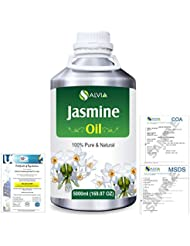 Jasmine (Jasminum Grandiflorum) 100% Natural Pure Essential Oil 5000ml/169fl.oz.