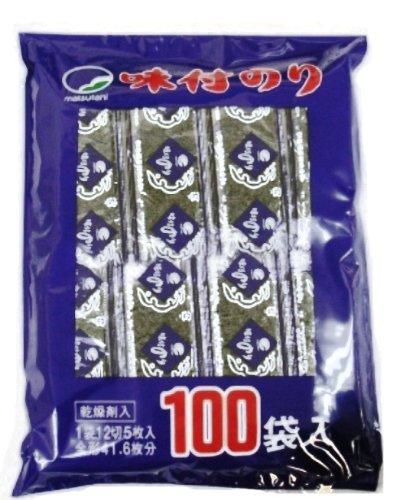 味付のり 袋100袋