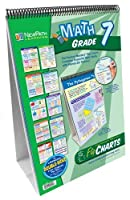 NewPath Learning Math Curriculum Mastery Flip Chart Set Grade 7 [Floral] [並行輸入品]