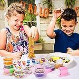 スライム slime kit スライム部品 DIY製作キット おもちゃ キラキラチャーム 手作りツール ストレス解消 パーティーで楽しく 画像