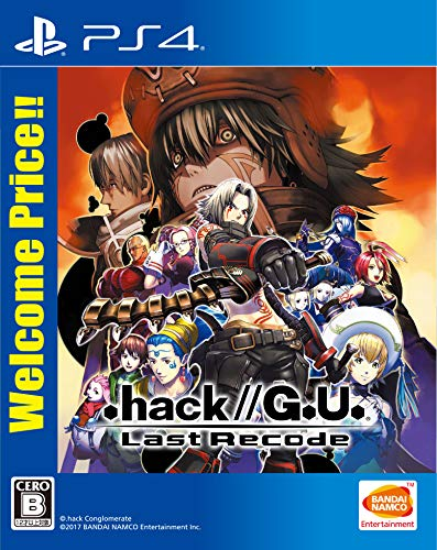 【PS4】.hack//G.U. Last Recode Welcome Price!!