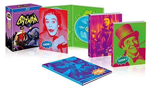 バットマン コンプリートTVシリーズ ブルーレイBOX(初回限定生産/13枚組) [Blu-ray]