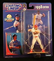 MARK MCGWIRE / ST. LOUIS CARDINALS 1998 MLB Extended Series Starting Lineup Action Figure & Exclusive Collector Trading