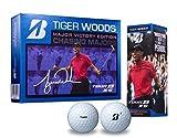 ブリヂストン(BRIDGESTONE) ゴルフボール TOUR B XS Tiger Woods Major Victory Edition ゴルフボール(1ダース 12球入り) メンズ 8SWXT2 ホワイト 弾道:中弾道 ボールタイプ:スピン