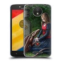 オフィシャル Anne Stokes シークレットガーデン ドラゴン・フレンドシップ ソフトジェルケース Motorola Moto C Plus