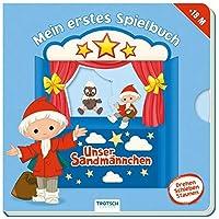 """Unser Sandmaennchen """"Mein erstes Spielbuch"""": 10 Seiten, ab 18 Monate"""