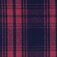ウール【17310】【柄物】【ウール生地】カラー全4色【50cm単位 切り売り】【チェックツイード】 35 レッド/ブラック