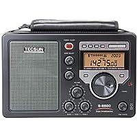 TECSUN S-8800 FM76-108MHz FM/LW/MW/SW 短波ラジオ 100VACアダプター付属 日本語版説明書