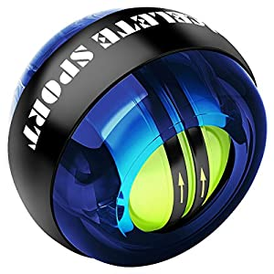 ACEFITS リストボール オートスタート 機能 次世代型 手首 握力 トレーニング (ブルー)