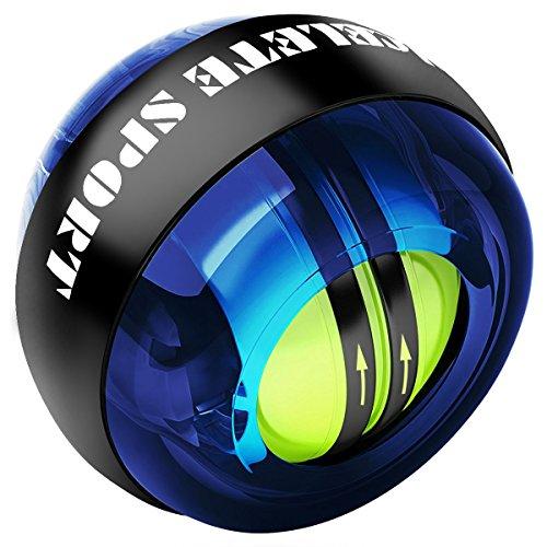 ACELETE リストボール オートスタート 機能 次世代型 手首 握力 トレーニング (ブルー)