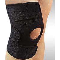 Zyary(TM) 膝蓋骨サポートブレーススリーブラップキャップスタビライザースポーツ膝保護用のアウトドアスポーツ用パッド
