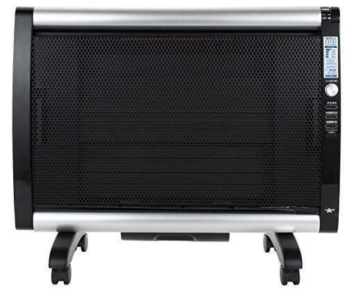 アラジン 加湿機能付きパネルヒーター ブラック AJ-P10DC