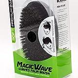Premium Boar Magic Wave Curved Palm Brush (SOFT)
