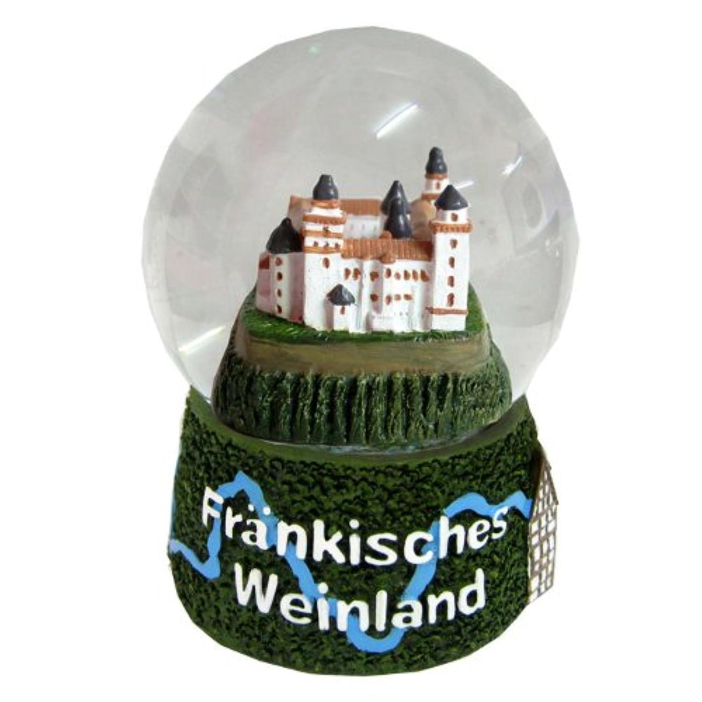 30009 【Minium Collection】 Snowdome スノーグローブ。 German Souvenir Snow Globe Glitterdome ドイツの都市