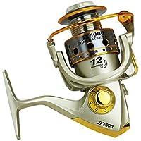 LORIA・JPスピニングリール 海釣り 川釣り 12軸 JX5000(左右交換ハンドル)