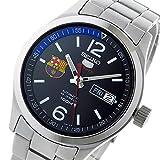 セイコー ファイブ SEIKO 5 スポーツ FCバルセロナ 自動巻き 腕時計 SRP301K1 ブラック[並行輸入品]