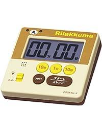 セイコー クロック デジタル タイマー リラックマ 分 秒表示 クリーム CQ150B SEIKO