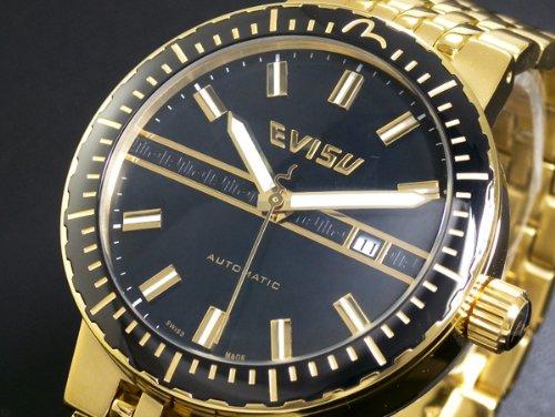 腕時計 SUZUKA AUTOMATIC EV-7011-33 エヴィス