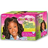 African Pride Dream Kids Olive Miracle Relaxer Kit, Regular