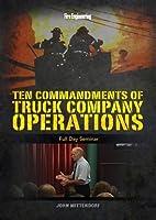 Ten Commandments of Truck Company Operations: Full Day Seminar [DVD]