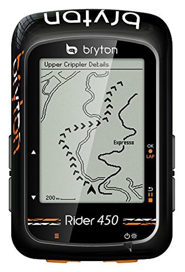 存在振幅マーチャンダイジングBryton Rider 450E GPSサイクリング、ブラック、2.3