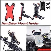 FidgetGear オートバイMTB自転車自転車ハンドルバーTalonマウントホルダーバンド3.5-7インチ電話
