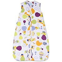 The Gro Company Grobag 2.5 Tog Up and Away Travel Sleeping Bag for 0-6 Months Baby