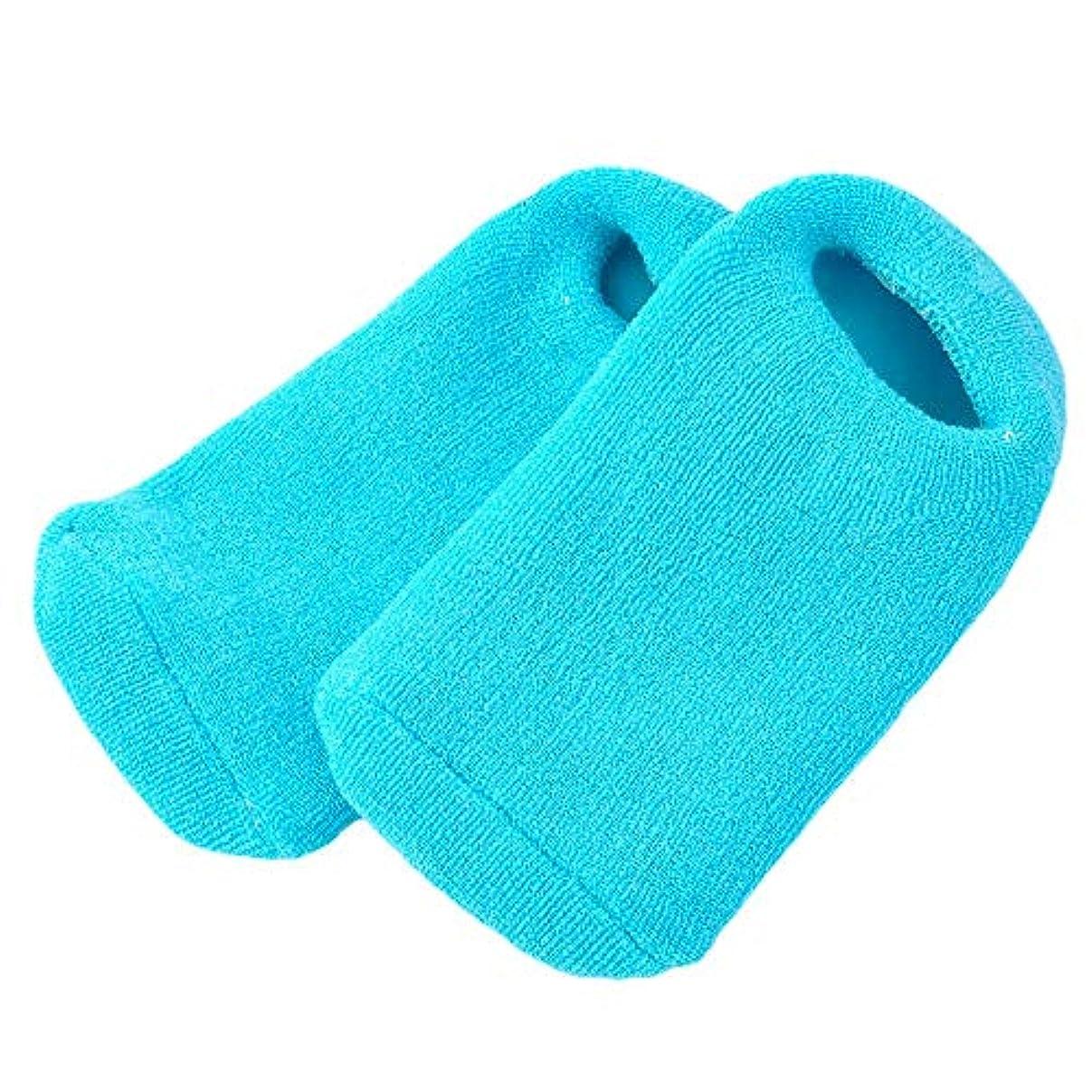 光沢のあるウッズエンドテーブルPinkiou 靴下 ソックス ジェル 素肌 足元 つま先 かかと 潤い 眠れる森のぷるジェル