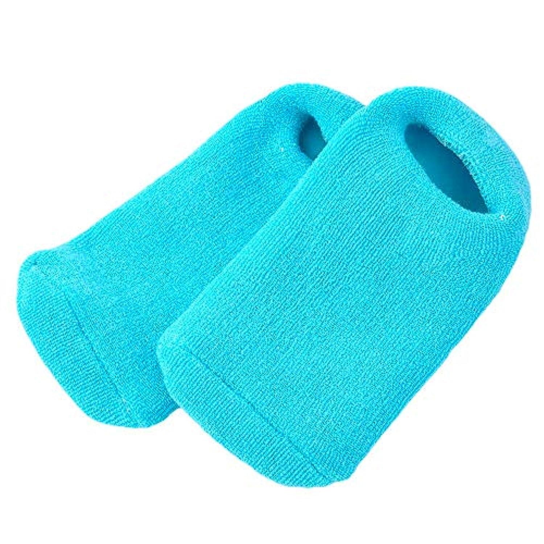アクションラメ症候群Pinkiou 靴下 ソックス ジェル 素肌 足元 つま先 かかと 潤い 眠れる森のぷるジェル