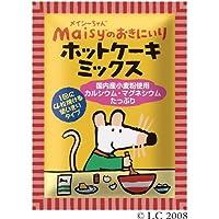 創健社 メイシーちゃんのおきにいり ホットケーキミックス 200g ×10セット