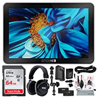 "SmallHD Focus 7 Daylight-Viewable 7"" On-Camera Monitor + 64GB + Headphones + Deluxe Accessory Bundle"
