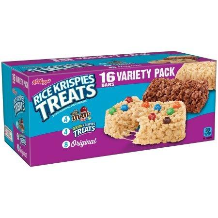 Kellogg's Rice Krispies Treats Variety Pack 22gx16(352g) ライスクリスピーズバラエティーパック [並行輸入品]