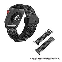 Catalyst (カタリスト) Apple Watch 38mm シリーズ 3/2/1 スポーツバンド ステルスブラックグレー CT-SBAW1738-BK