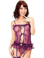 モンシェリ セクシーランジェリー mon0028【色気が引き立つ紫色】